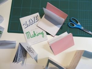 zine making ad